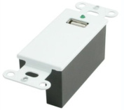 C2G / Cables to Go 29342 USB SuperBooster Wall Plate