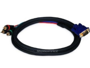 Monoprice 102170 1.8m VGA to 3 RCA Component Video Cable