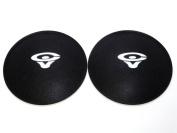 2 Cerwin Vega 11cm Felt Logo Dust Caps