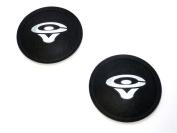 2 Cerwin Vega 7cm Felt Logo Dust Caps