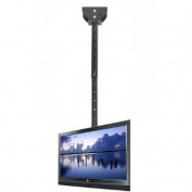 VideoSecu Adjustable Ceiling Mount Fit VESA 400x400 400x300 400x200 300x300 300x200 200x200 200x100 LCD LED Plasma TV Monitor Flat Panel Screen Display MLCE7 1OB