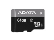 ADATA Premier 64GB microSDHC/SDXC UHS-I U1 Memory Card with One Adapter