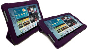 LuvTab PURPLE for for for for for for Samsung Galaxy Tab 2 GT-P5110 (25cm tablet) Multifunctional Multi Angle Luxury Executive Wallet / Cover / Stand / Flip Case