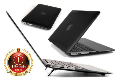 iPearl mCover Hard Shell Cover Case For 29cm Apple MacBook Air A1370 & A1465 - BLACK