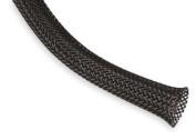 Techflex PTN0.50BK10 Flexo PET General Purpose 1.3cm Braided Cable Sleeve, Black - 3m