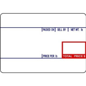 CAS LST-8010 Printing Scale Label, 58 x 40 mm, UPC