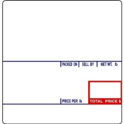 CAS LST-8020 Printing Scale Label, 58 x 60 mm, UPC/Ingredients
