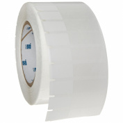 Brady THT-153-461-3 6.7cm Width x 1.5cm Height, B-461 Self-Laminating Polyester, Matte Finish White/Translucent Thermal Transfer Printable Label
