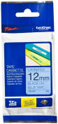 for Brother Tze531 - Laminated Tape - Black On Blue - Roll (1.2 Cm X 8 M) - 1 Roll