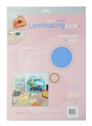 Grafix 9-Inch-by-30cm Light Weight Laminating Film, 4-Pack