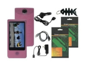iShoppingdeals - Premium Accessory Bundle Combo for Sony Bloggie Touch (MHS-TS20/MHS-TS10) 4GB 8GB