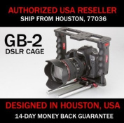 Authentic PNC P & C DSLR Camera GearBox GB-2 Video Accessory Cage w/ 15mm Rod