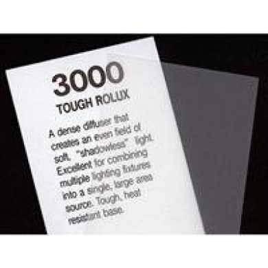 Rosco Cinegel Tough Rolux, 50cm x 60cm Sheet of Light Diffusing Material