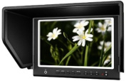 Lilliput 18cm 664/o/p LED Camera-top Monitor with Hdmi/in & out+av in Peaking Zebra Exposure filter with Broadcast Quality for Dslr & Full Hd Camecorder By Viviteq Inc