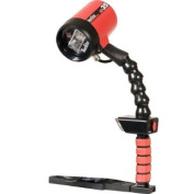 Ikelite Autoflash AF35 Kit, Left Hand Flash Kit with Single Tray Guide (ISO 100) feet