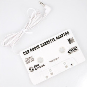 Car Cassette Adapter For MP3,iPod,XM,CD,MD,Sirius