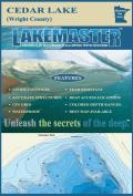 Lakemaster LPMNCEP07-04 Paper Map Cedar