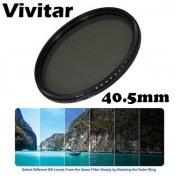 Vivitar 40.5mm Neutral Density Variable Fader NDX filter ND2 to ND1000