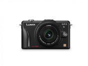 Panasonic Lumix DMC-GF2 12 MP Micro Four-Thirds Interchangeable Lens Digital Camera with 3.0-Inch Touch-Screen LCD and 14mm f/2.5 G Aspherical Lens