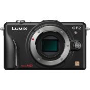 Panasonic Lumix DMC-GF2KBODY 12.1 MP Compact System Camera Body with 7.6cm LCD Display
