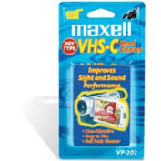 Maxell VHS-C Dry Head Cleaner