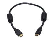 0.5m 28AWG High Speed HDMI® Cable w/Ferrite Cores - Black [Electronics]
