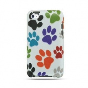 Colourful Dog Paws Protector Case for iPod touch