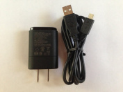 LG MCS-02WT MCS-02WD Charger with Micro USB Cable for All LG MicroUSB port Models 5.0v 0.85A