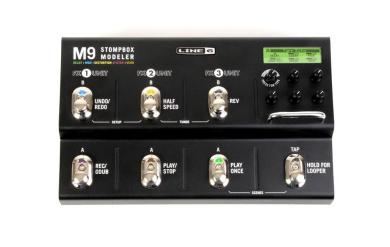 Line 6 M9 Stompbox Modeller Guitar Multi Effects Pedal
