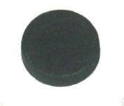 100 Black Adhesive Backed Foam Dots CD / DVD Hubs (Rosettes) - #CDNRFODOBK - For Glueing Digital Media onto Most Surfaces!