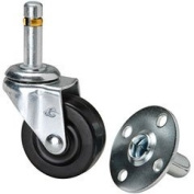 Penn-Elcom W0958 2 Push-In Caster with Metal Socket
