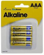 Promaster AAA Alkaline 4pk