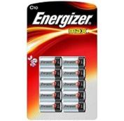 Energizer MAX C 10 Battery Super Pack Alkaline Batteries