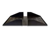 2U Cantilever Server Shelf Rack Mount 48cm 2 piece set Centre Weighted Vented
