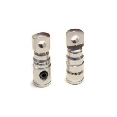 KnuKonceptz 4 Gauge Set Screw Ring Terminal Pair