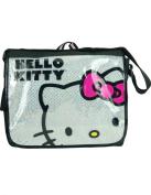 Hello Kitty Face Messenger Bag - White