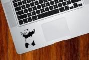 Banksy - Shooting Panda - Trackpad - Vinyl Decal