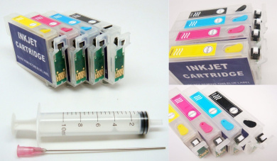 Non-oem Refillable Empty Ink Cartridges Inkjet With Auto Reset Button Chips for compatible with  compatible with  compatible with  compatible with  compatible with  compatible with  compatible with  compatible with  compatible with  compatible with  compa