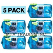 Fujifilm Quick Snap Waterproof 35mm Fuji Disposable / Single Use Underwater Camera
