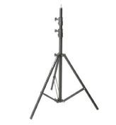 Impact Air-Cushioned Heavy Duty Light Stand - Black, 9.5 feet