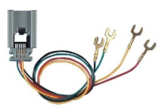 Allen Tel AT623D-4 Modular Telephone Outlet Jack with 4 Wire, 6 Position, Line Jack for 500 Desk Telephone Base