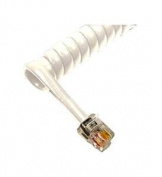 GCHA444006-FWH / 1.8m Handset Cord - White (ICC-ICHC406FWH) -