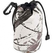LensCoat Soft Neoprene LensPouch Bag, Xtra Small (7.6cm D X 10cm L) - Realtree Hardwoods Snow