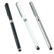 3pc Multi Function Ballpoint & Stylus Pen Combo for ALL Capacitive Touch Screen Device iPhone iPad