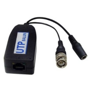 1CH Passive Video Balun with Power Guarantee