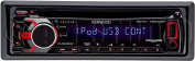 Kenwood KDC-X397 eXcelon Single DIN In-Dash Car Stereo Receiver