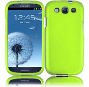 Hard Case for for Samsung Galaxy S3 i9300 - Neon Green