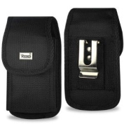 Rugged Heavy Duty Nylon Canvas Protective Cell Phone Case Pouch (with belt clip) for HTC Evo/HD2/Inspire/Thunderbolt