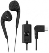 LG SGEY0003745 Micro-USB Stereo Earbud Headset with Original OEM - Non-Retail Packaging - Black