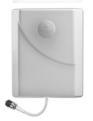 Wilson Electronics Dual Band - 700-2700 MHz 75 Ohm Directional Wall Mount Panel Antenna with F Female Connector